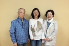 Rev. Sunny Kim with parents
