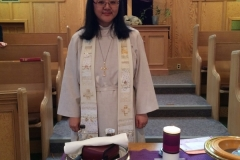 Rev. Sunny Kim and symbols of covenant