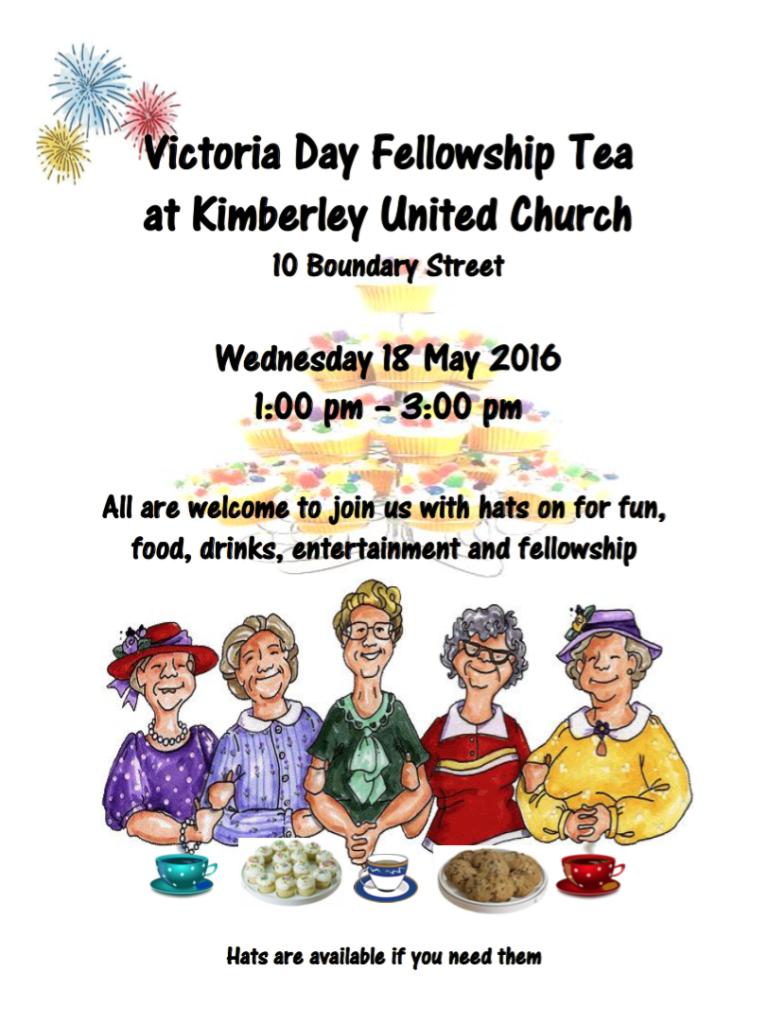 Victoria Day Tea 2016