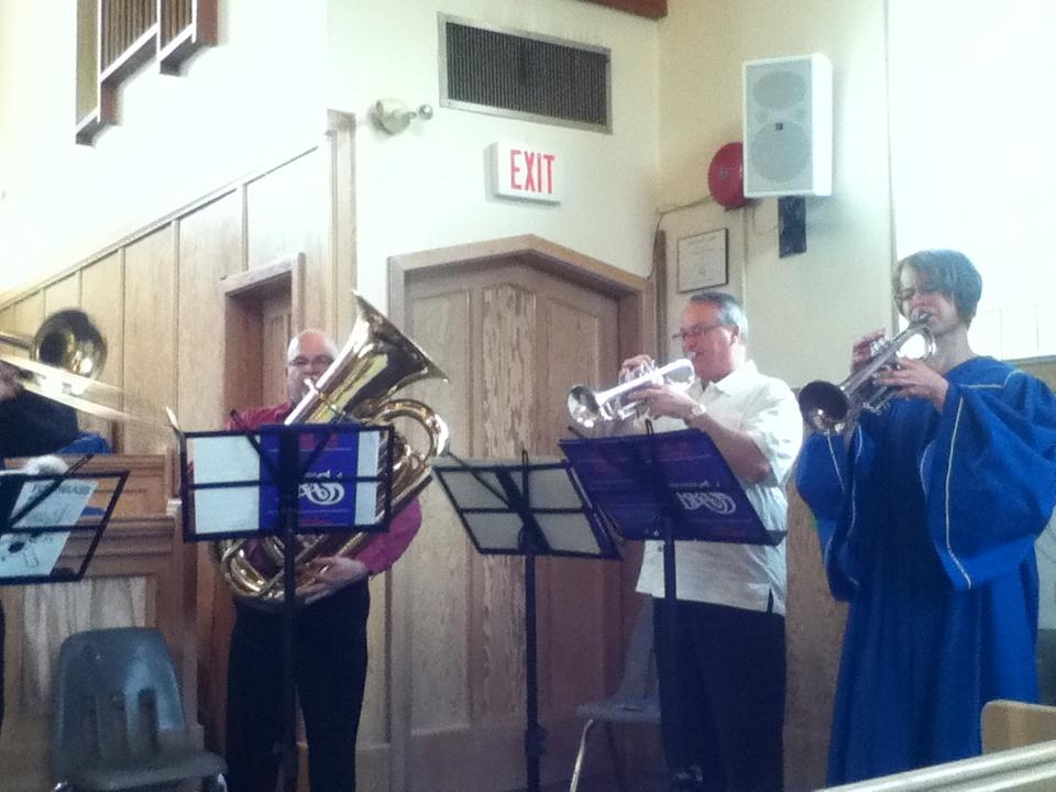 Kootenay Brass Quintet 1