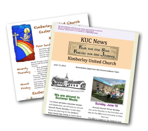 Two KUC Newsletters