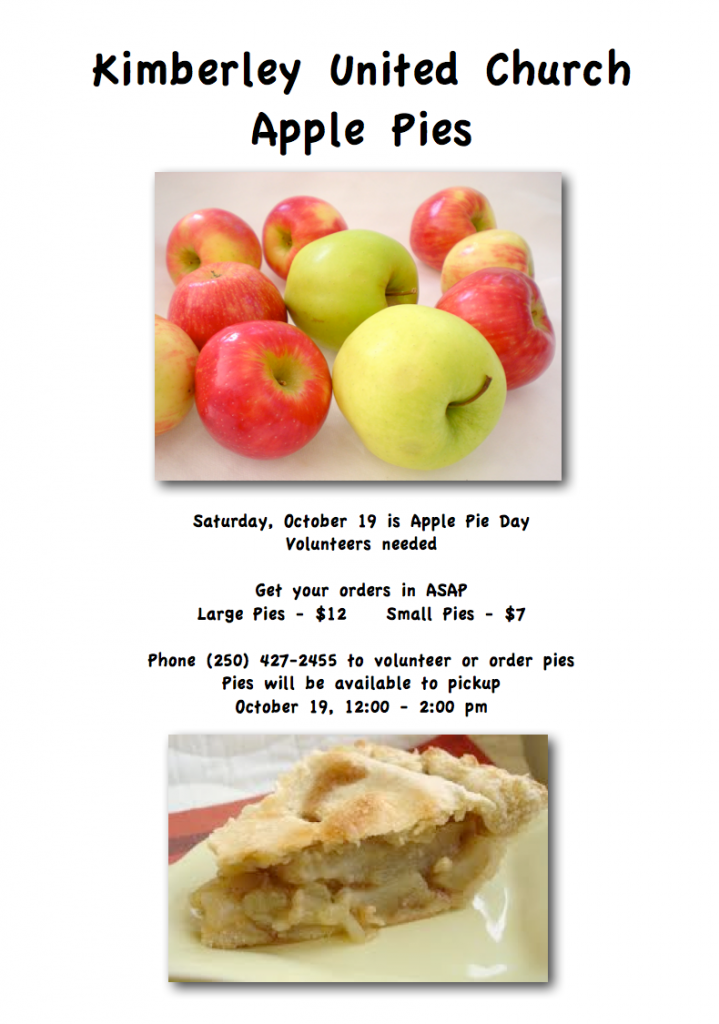 Apple Pie Poster 2013