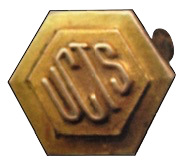 "Graduation Pin: ""UCTS"" – United Church Training School"