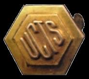 "Graduation Pin: ""UCTS"" – United Church Training School"