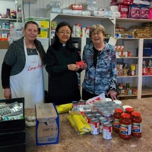 KUC supports Food Bank