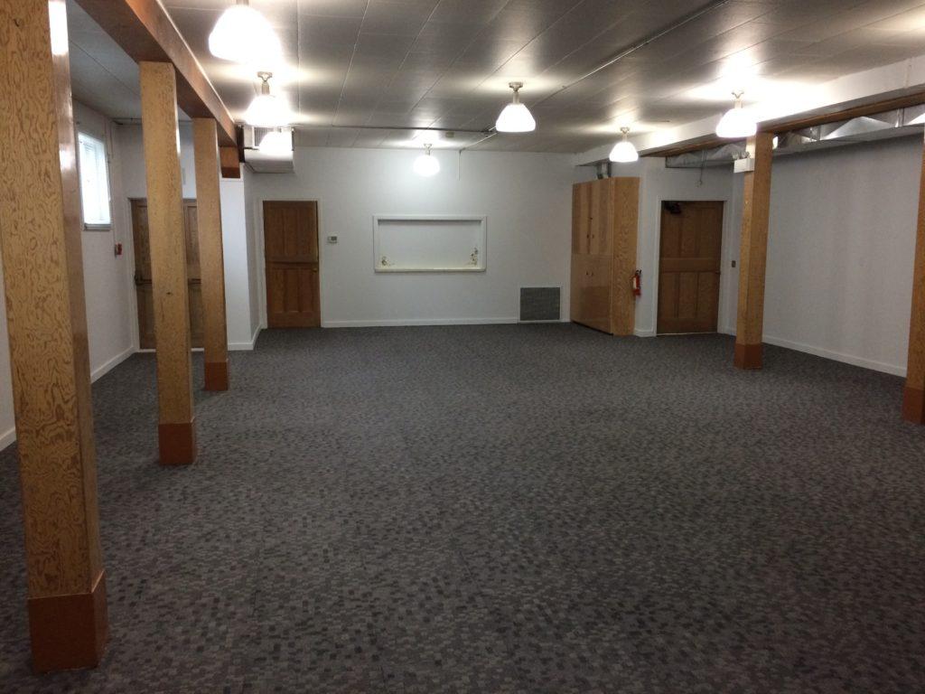 7 Finished! Carpet laid